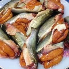 Đậm đà cá chốt trứng kho sả ớt