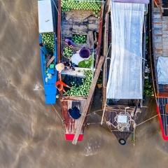 Ảnh đẹp thủy sản: Chợ nổi Cái Răng - Nét độc đáo nơi miền Tây sông nước