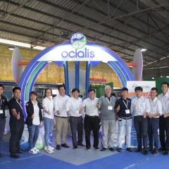 Ocialis tham gia sự kiện Vietshrimp 2021, chính thức giới thiệu thức ăn vi sinh thế hệ mới Vanalis Pro