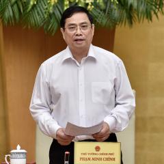 """Thủ tướng Phạm Minh Chính: """"Doanh nghiệp không mua, xuất khẩu thủy sản không rõ nguồn gốc"""""""