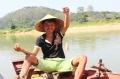Nhọc nhằn nghề câu cá bống trên sông Lam