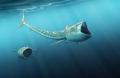 Cá cổ đại đầu dài nửa mét