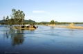 Người nuôi cá cần làm gì trong mùa mưa lũ