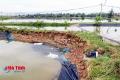 Hàng chục tỷ của người nuôi tôm Hà Tĩnh cuốn theo bão số 10