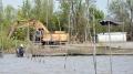 Sông Bảy Háp bị bức tử bởi mưa bùn ở các đầm nuôi sò huyết