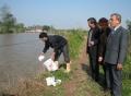 Hiệu quả kép nhờ sử dụng chế phẩm sinh học xử lý môi trường nuôi trồng thủy sản ở Hưng Yên